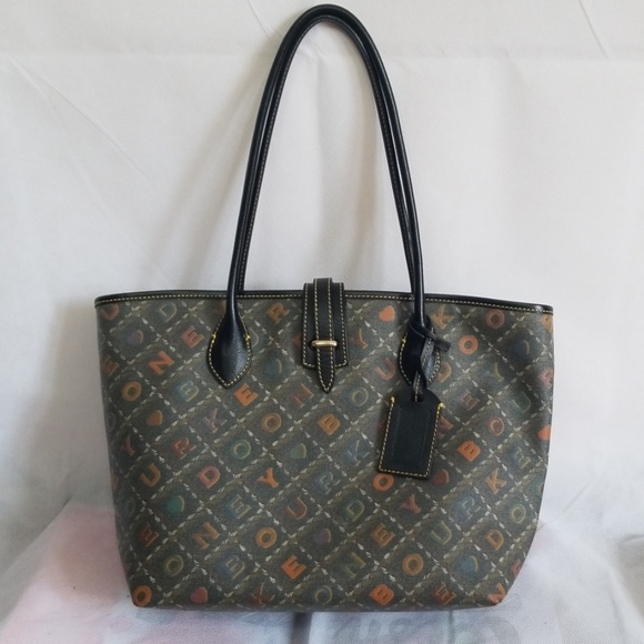 Dooney & Bourke Handbags - Dooney & Bourke Crossword Collection Cindy Tote